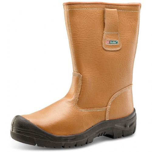 Click Lined Scuff Cap Safety Rigger Boots